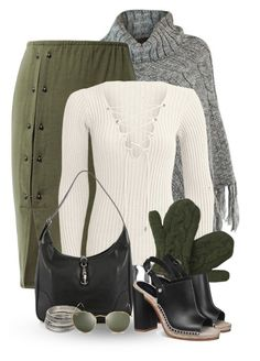 """""""Untitled #151"""" by missus-sara ❤ liked on Polyvore featuring Hermès, Laundromat, MANGO and Ray-Ban"""
