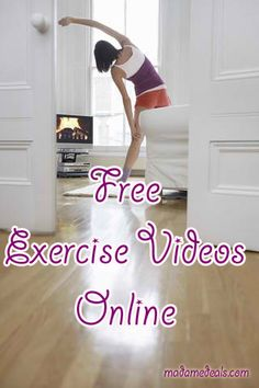Free Exercise Videos Online http://madamedeals.com/save-money-exercise-equipment-free-exercise-videos-online/ #yourweightlossmethods #inspireothers