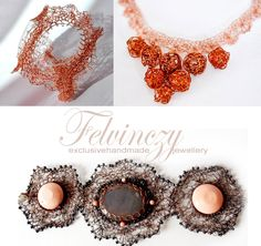wire crochet jewelry