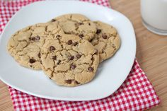 gluten free dairy free soy free chocolate chip cookies
