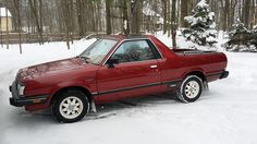 1983 Subaru Brat. Car #3. Drove this one from about '83 -' 86?