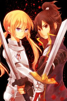 Kirino and Shindou