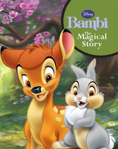 Bambi: The Magical Story (Disney Padded Story) Parragon B. Bambi Disney, Disney Dream, Disney Fun, Disney Cartoons, Disney Pixar, Cute Cartoon Pictures, Cute Animal Pictures, Bambi Tattoo, Caricature
