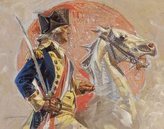 themainloop: JOSEPH CHRISTIAN LEYENDECKER (American, 1874-1951). Fourth of July (George Washington),