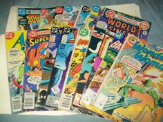 DC Comics assorted (set of 16)see list