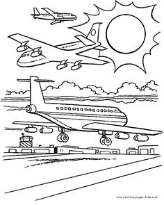 airplane coloring pages transportation coloring pages coloring pages for kids thousands of free printable coloring pages for kids - Lego City Airplane Coloring Pages