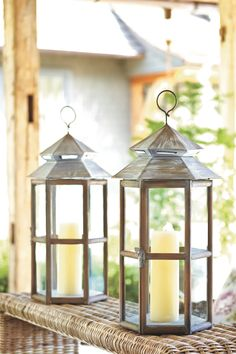 Tahoe Candle Lanterns - Available May 2012 at ballarddesigns.com