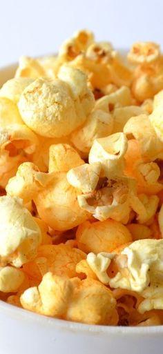 Garlic and Parmesan Popcorn
