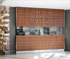 Looking for museums in Cape Town? Visit the Cape Town Diamond Museum and explore the world of diamonds like never before. Located at the V&A Waterfront. Cape Town Tourism, Diamond Formation, Indoor Attractions, African Diamonds, V&a Waterfront, Jewelry For Her, Most Beautiful Cities, South Africa, Museum