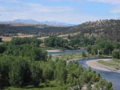 Miss this area! Yellowstone River in the vicinity of Columbus, Montana.