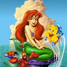 Ariel Mermaid, Mermaid Tale, Mermaid Disney, Disney Little Mermaids, Mermaids And Mermen, Ariel The Little Mermaid, Disney Love, Walt Disney, Ariel Ariel