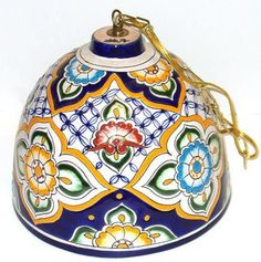 Lamp Talavera Shade