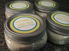 Gardener's Hand Scrub. I've pinned this before, but now it's where it belongs...for the March fair! :)