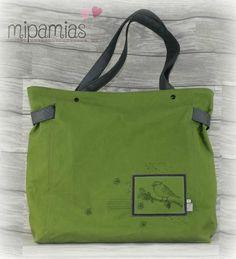 mipamias: Taschenspieler Sew Along 2018 - CarryBag *Werbung*