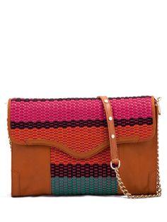 Multi-Weave Beau Clutch