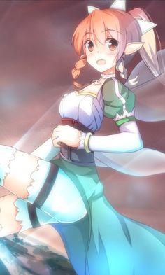 Sword Art Online, Leafa, by shirotaso0818