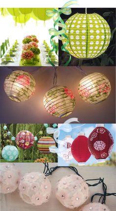 1000 images about pretty paper lanterns on pinterest - Asian ideas paper lanterns ...
