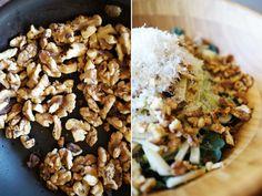 Kale Fennel Apple Salad // HonestlyYUM