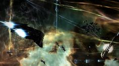 Eve online, I played it for nearly a year in total, Its a really cool game if you can get in to it :)