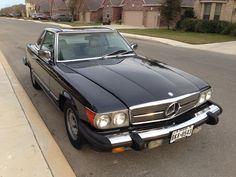 My actual weekend ride...1985 Mercedes 380SL