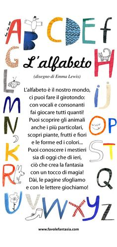 Alfabeto _2 Letter Activities, Kindergarten Activities, School Days, Back To School, Italian Language, Pre Writing, Learning Italian, Reading Material, Home Schooling