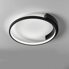 Modern Minimalist Circle LED Ceiling Lamp for Bedroom Living Room Led Ceiling Lamp, Led Ceiling Lights, Modern Minimalist, Mid-century Modern, Contemporary, Living Room, Bedroom, Modern, Room