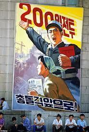north korean propaganda posters - Google Search