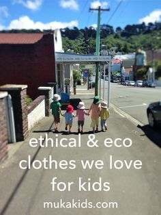 Ethical clothing, et