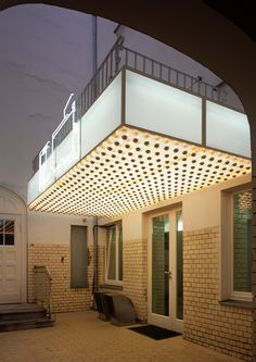 Philippe Parreno Architecture Old, Architecture Details, Philippe Parreno, Facade Lighting, Flickering Lights, Interior Decorating, Interior Design, Light Art, Colour Schemes