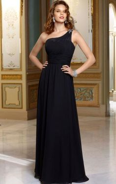 a615fba7fcfa3 Beautiful Long Black Tailor Made Evening Prom Dress(BNNAJ0015) cheap  online-MarieProm UK