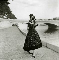 Evening dress by Yves Saint Laurent for Dior, 1958, Maywald
