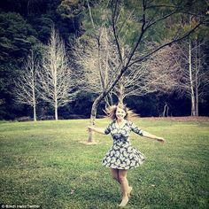 'Dancing like there's no tomorrow': Bindi Irwin posted a picture from Splendour in the Grass festival in 2014