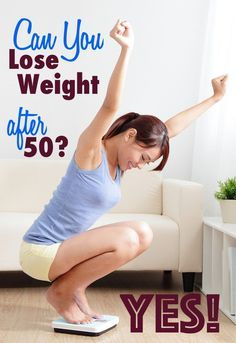 Lose weight after 50 or any age by reducing cravings and hunger and increasing your metabolism.