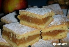Szabolcsi olcsó almás porlós - Almás pite 8. Hungarian Desserts, Hungarian Recipes, Hungarian Food, Fall Bake Sale, Baking Recipes, Cake Recipes, Homemade Sweets, Just Eat It, Salty Snacks