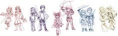 Maho Shoujo and Shounen... by ~kittyXartist on deviantART