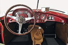 1953 Fiat 8V Series 1 Berlinetta by Fiat Carrozzeria Speciale dashboard