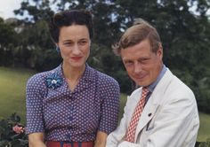 Edward VIII and Wallis Simpson, that other divorced woman who was denied the title of Royal Highness and prevented from becoming Queen.