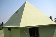 Viswatma Pyramid Meditation Center year of construction : 2008 size : 10ft x 10ft (roof top) | capacity : 15 persons cost incurred :  40,000 | type of Structure : RCC timing : 5AM-7PM, open for public use technical support : Madhusudhan contact : Sundara Parvathi Rani, mobile : +91 94933 35889 address : 1-153, DRK nagar, Gollala mamida, Pedapudi (mandal) http://pyramidseverywhere.org/pyramids-directory/pyramids-in-andhra-pradesh/coastal-andhra/east-godavari-district