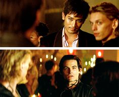 #MALEC - I mean him. The one with the blue eyes.