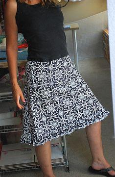 basic skirt, endless options.