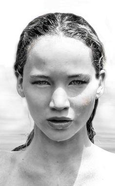 Jennifer Lawrence's Stunning Modeling Days