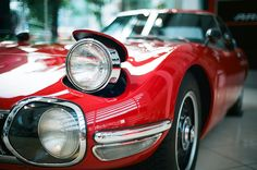 """wellisnthatnice: """" Toyota 2000GT MF10. by tokyo scooter stuff on Flickr. """""""