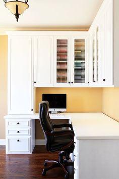 kevinandamanda-scrapbook-room-craft-room-ideas-creative-memories-1 — Kevin & Amanda Sewing Room Design, Craft Room Design, Small Room Design, Craft Space, Craft Desk, Inside Design, Sewing Studio, Bed Design, Chair Design