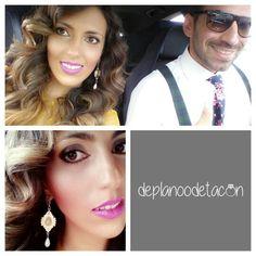 Ayer nos fuimos de boda Pendientes piedras rosa pastel (6,95€) www.deplanoodetacon.com #tiendaonline #complementos #moda #mujer #pendientes #deplanoodetacon #haztupedido ¡Te vas a enamorar!