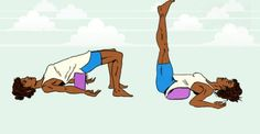 The Best Restorative Yoga Poses to Relieve Stress [INFOGRAPHIC]