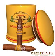 Petit No2 jar  Specially made for the 11th anniversary of The Amigos de Partagas…