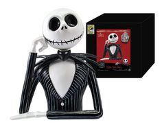 """Jack Skellington Bank - $10 Monogram International Booth #3645 Not a 2016 Exclusive but a """"Warehouse Find"""" so only 100 or less available, and not held back each day so first come first serve"""