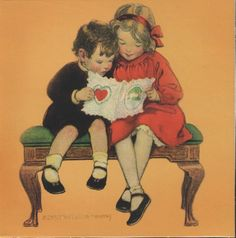 February 1924 cover of Good Housekeeping by Jessie Willcox Smith