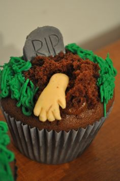 cupcake #halloween #Zombie