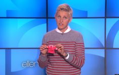 """Ellen has two words for Abercrombie & Fitch's fat-shaming CEO, Mike Jeffries: """"Fitch, please!"""""""